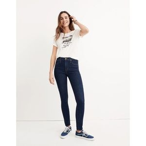 """Madewell 10"""" High-Rise Skinny Jeans Lucille Wash"""